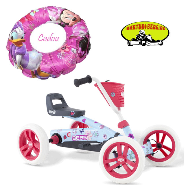 Kart BERG Buzzy Bloom + Cadou Colac De Inot Minnie