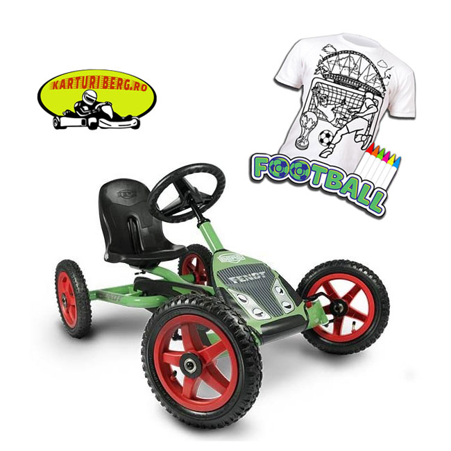 Kart BERG Buddy Fendt + Cadou Tricou Splat Planet