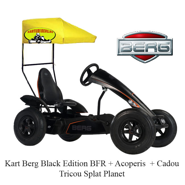 Kart Berg Black Edition BFR + Acoperis  + Cadou Tricou Splat Planet