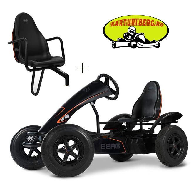Kart Berg Black Edition BFR + Scaun Black Edition + Cadou Tricou Splat Planet