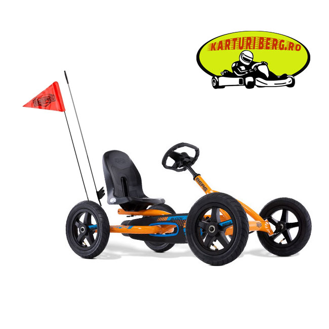 Kart Berg Buddy B Orange + Steag + Cadou Tricou Splat Planet