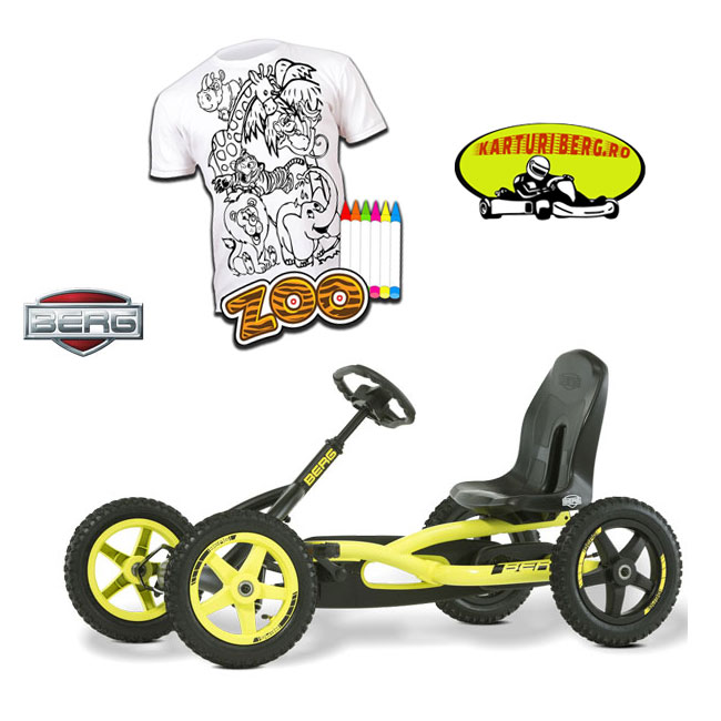 Kart Berg Buddy Cross + Cadou Tricou Splat Planet