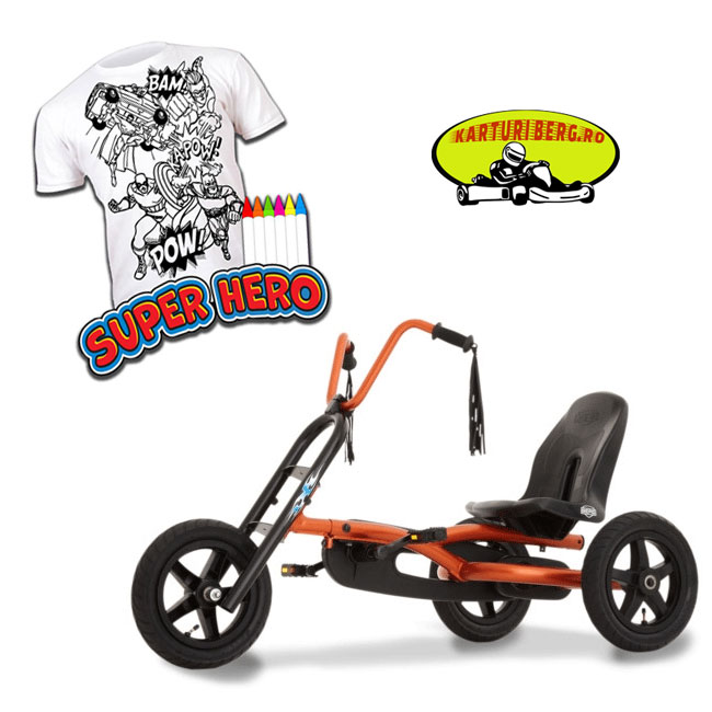Kart Berg Choppy + Cadou Tricou Splat Planet